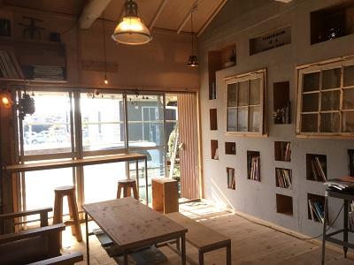 ベーグル専門店「1room」(西千葉)内装