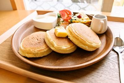ごはんcaféぷくぷく(おゆみ野) パンケーキ