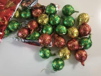 コストコ クリスマスツリーデコレーションチョコレート