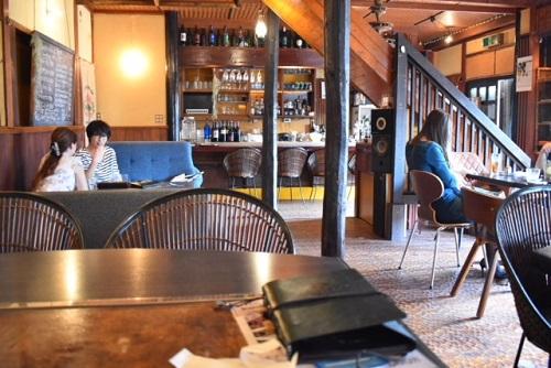 千葉県船橋市OLD FINE CAFE 内装