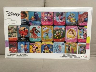 コストコクリスマス ディズニーパズルセット