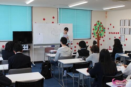 松戸市興学社学院の授業風景