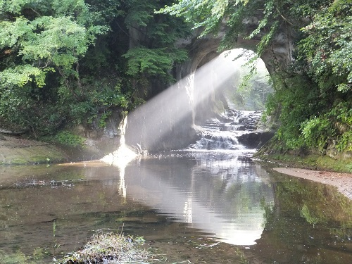 千葉のパワースポット濃溝の滝