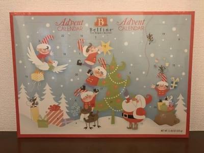 コストコクリスマス アドベントカレンダーチョコレート