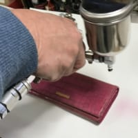 ブランドのお財布を元の色にカラーチェンジ