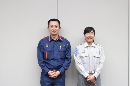 千葉市消防局救命救急士市原優さんと鈴木映美さん