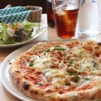 道の駅いちかわ内「トラットリア・アルポンテ」では本格イタリアンが味わえる