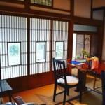 千葉県船橋市古民家カフェ「ゆずカフェ」店内