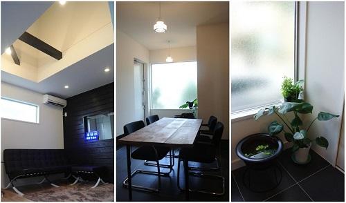 おしゃれな船橋市の家はリノベーション集宅で、和風の家が洋風に