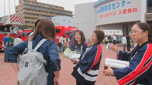 松戸市の住宅防火防災推進シンポジウム(2019年1月26日開催)