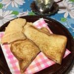 ビーフジャーキー太郎でチーズホットサンド