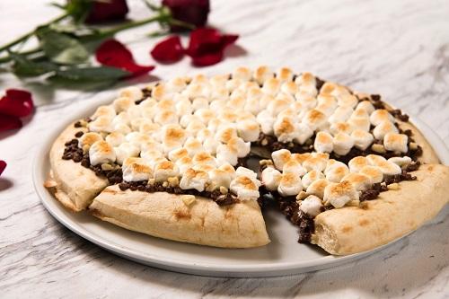 マックス ブレナーのチョコレートチャンクピザ(スライス471円)