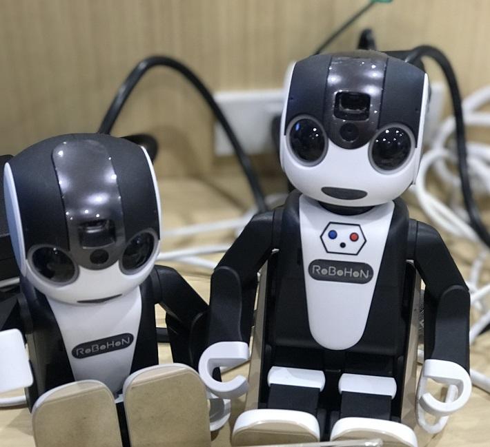 AI家電、スマートスピーカーでできることインタビュー ロボホン画像