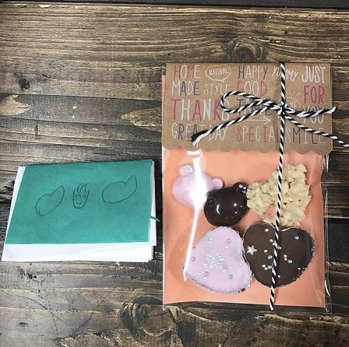 パパ芸人タケトのバレンタイン 子どもからの手づくりチョコレート画像