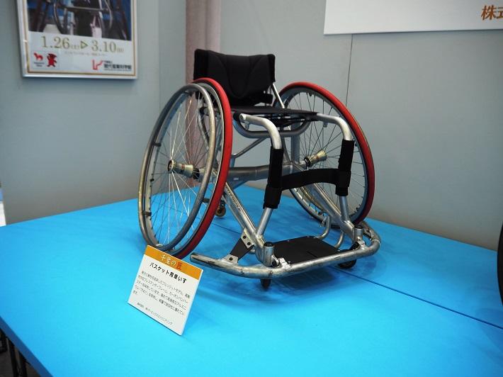 「千葉の匠(たくみ)展」 競技用車いすをテーマに開催