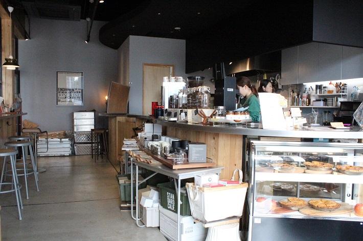 千葉にあるコーヒー豆専門店「mamenakano」の姉妹店「PIE&COFFEE mamenakano」