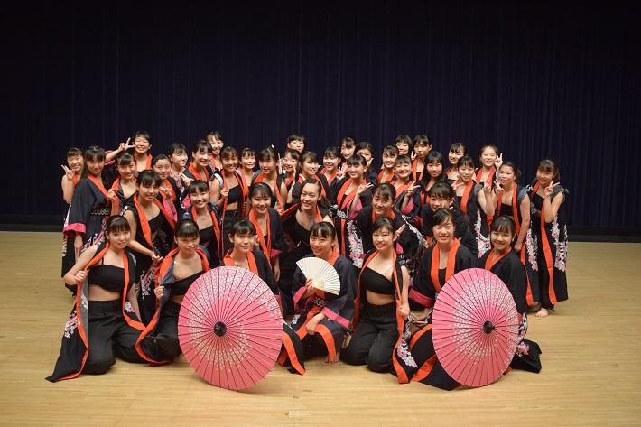 からだにいいことフェスティバル2019に登場する千葉敬愛ダンス部
