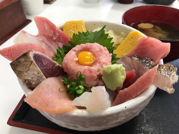 銚子漁港まいわい丼