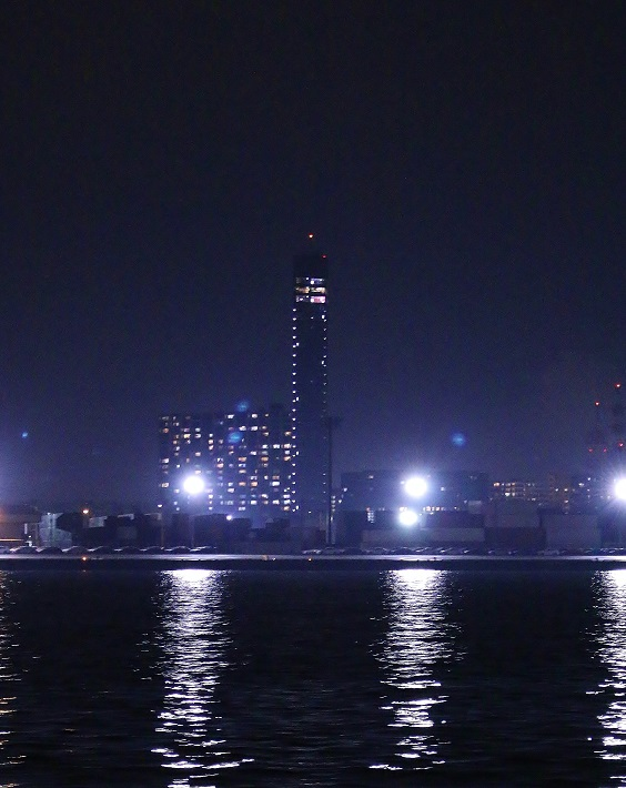 千葉工場夜景クルーズ千葉ポートタワー