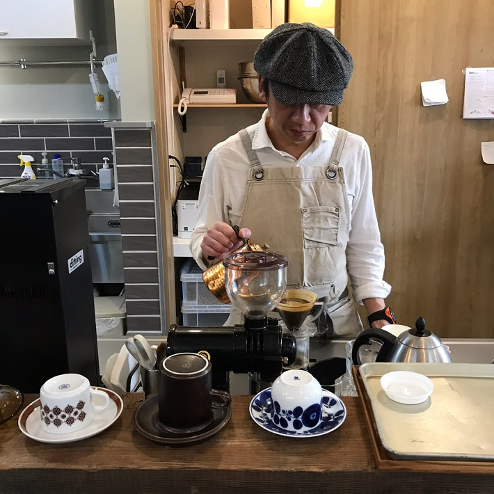 HATCH COFFEE ROASTERY マスターの珈琲