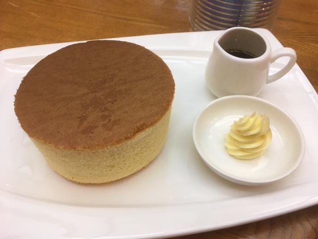 志津モダンタイムスさんホットケーキアップ画像