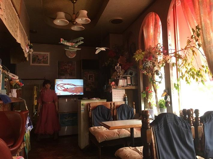 稲毛喫茶店 秋桜(コスモス) 店内