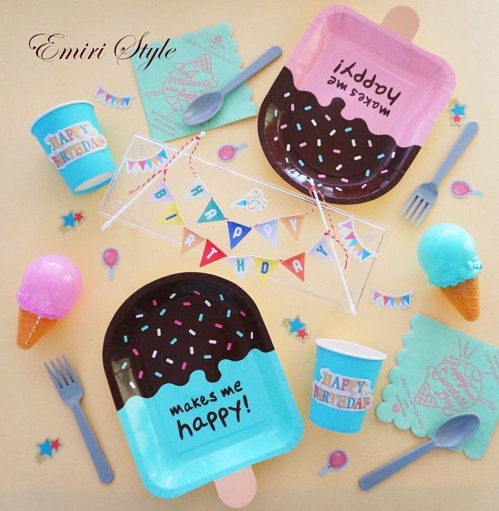 子どもの誕生日パーティーアイデア!100均でテーブルコーディネート
