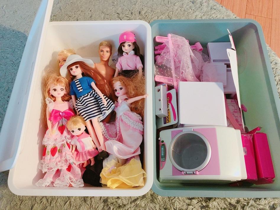 ちいき新聞のおもちゃリサイクルで無料引取りできるリカちゃん人形やおままごと道具