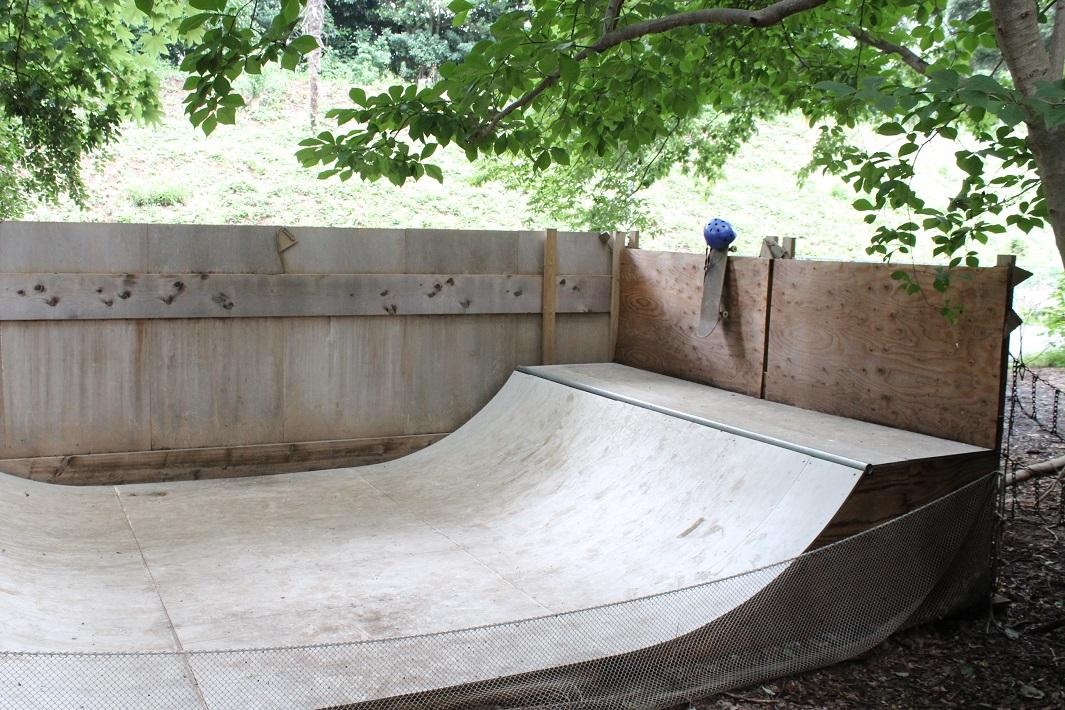 スケートボードの練習場所