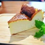 千葉県佐倉市のちいさな箱カフェのバスクチーズケーキ