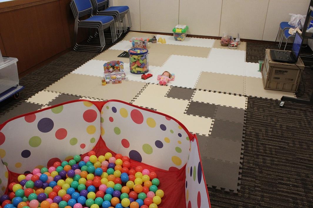成田国際文化会館で開催された家づくり勉強会のキッズルーム
