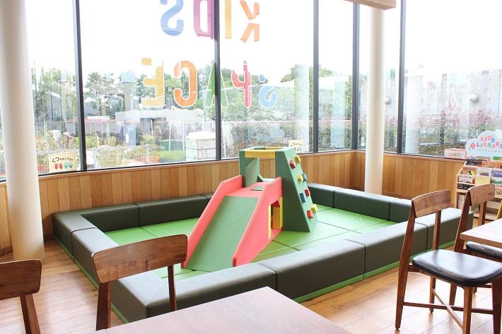 葛西臨海公園カフェのキッズコーナー