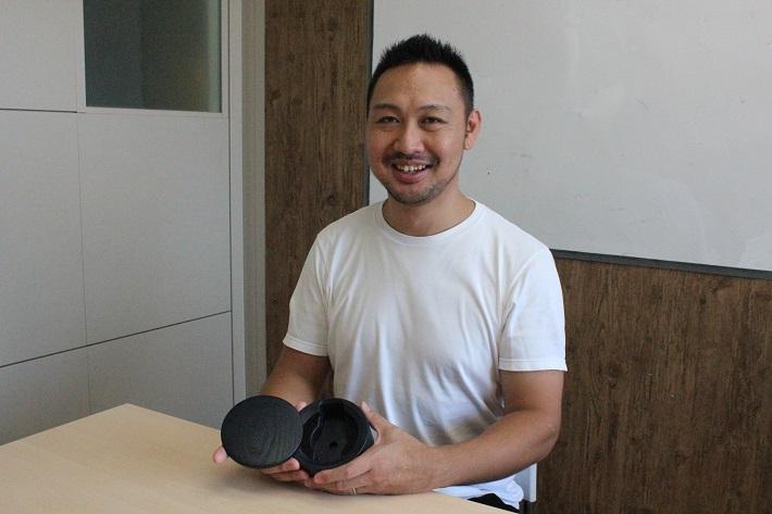 オリンピックメダルデザイナー吉田真也さん