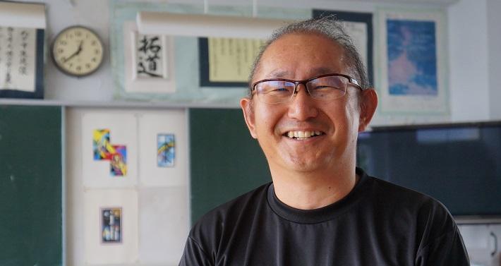 玉造明男先生教諭