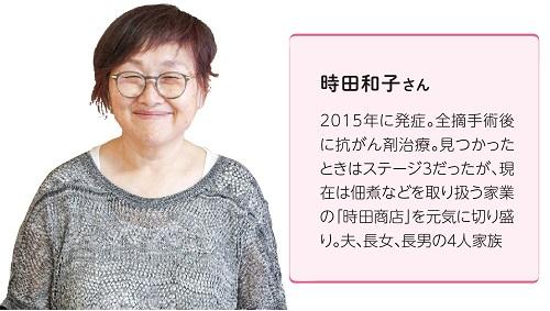 時田和子さん