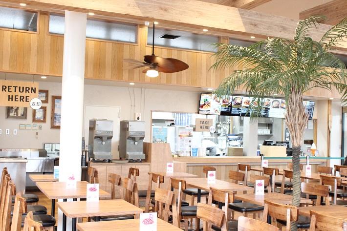 リニューアルした葛西臨海公園のカフェ