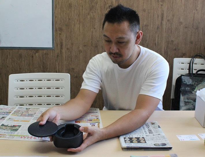 プロダクトデザイナーの吉田真也さん