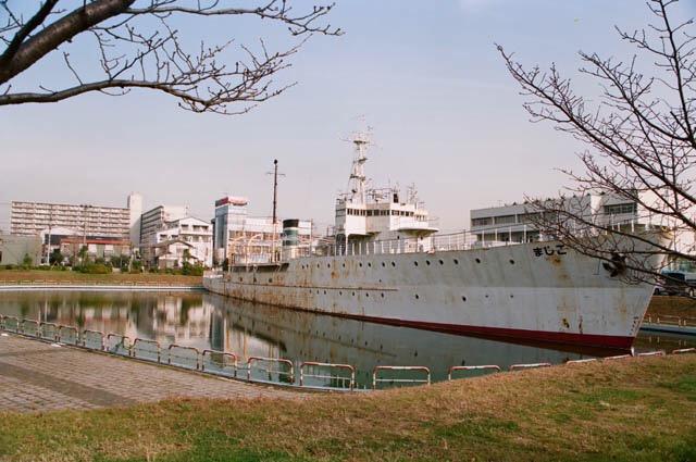 こじま丸の実物船