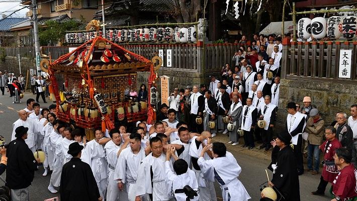 佐倉の秋祭り