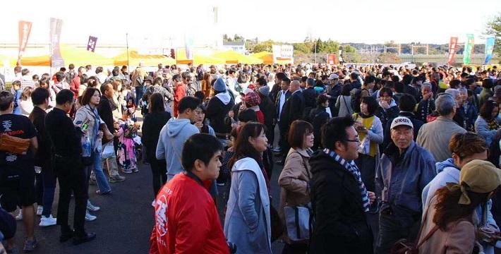 成田酒フェスティバルの様子
