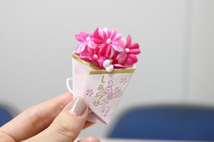 菊田神社の花束のお守り