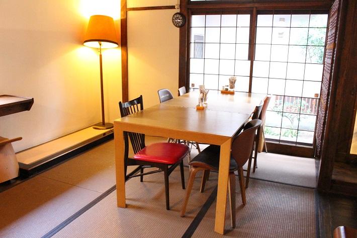ママノキモチカフェの個室