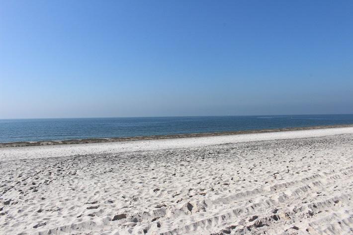 稲毛海岸のホワイトビーチ