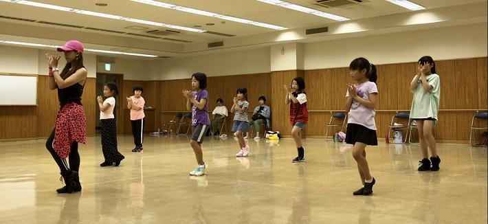 秋の健康フェスティバル2019キッズダンス