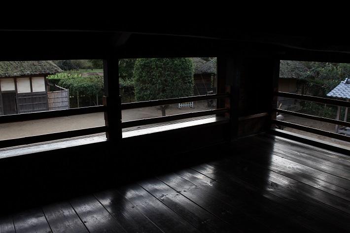 中二階は奉公人の部屋として使われていた