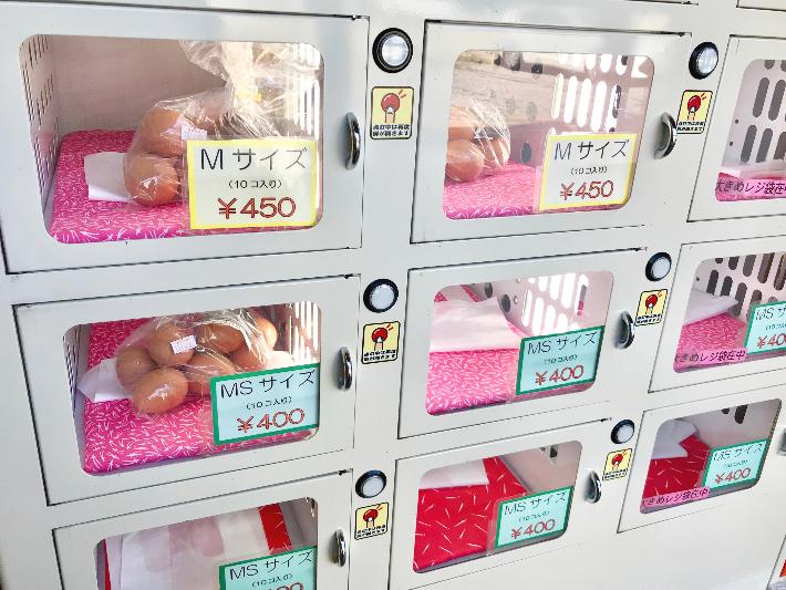 奈良たまご自販機アップ
