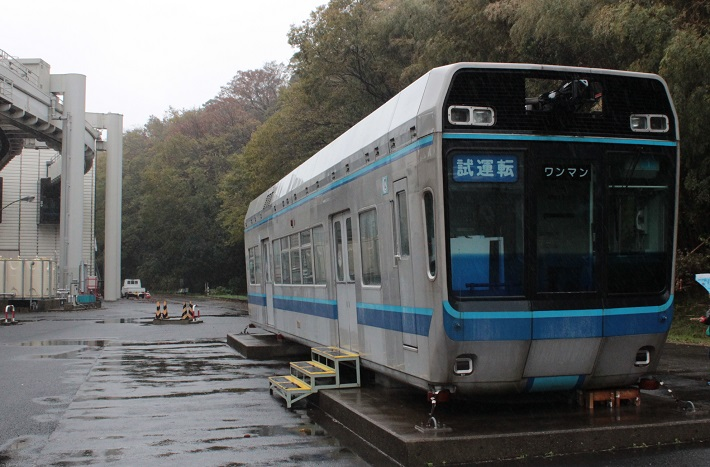 千葉都市モノレール1000型