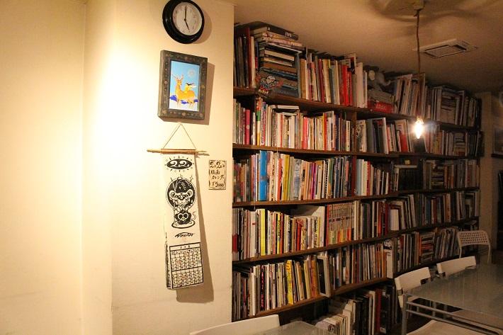 トレジャーリバーのブックカフェ