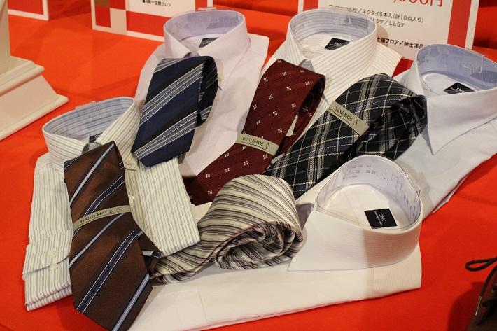 千葉そごうの福袋2020紳士ワイシャツとネクタイのセット