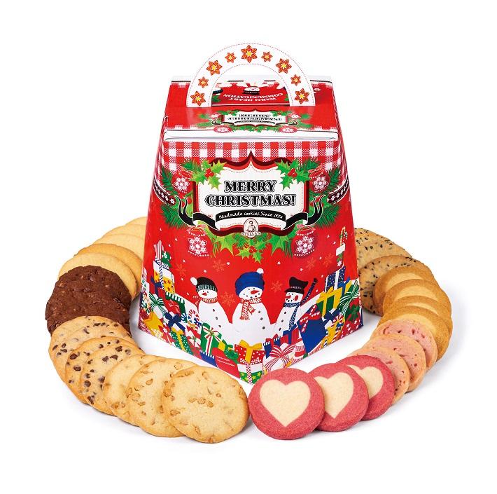 ステラおばさんのクッキー「クリスマスバーレル」